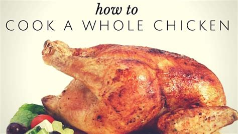 pantry raid how to cook a whole chicken