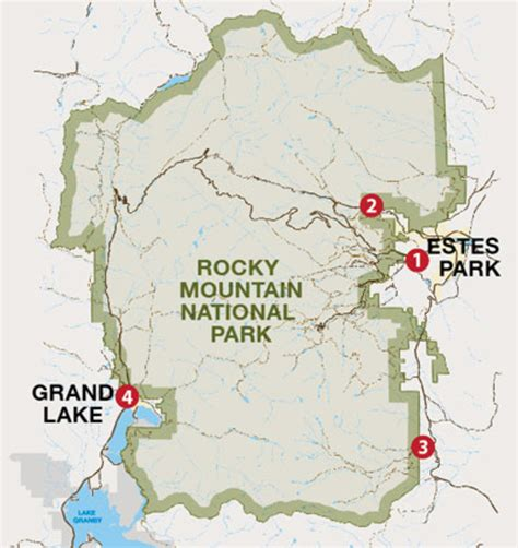 rocky mountain national park map which entrance should i take into rocky mountain national park my rocky mountain park
