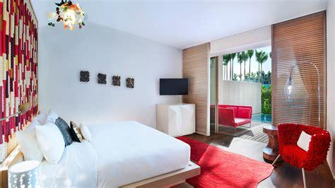 w hotel room layout sentosa island resort fabulous room at w singapore