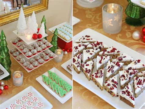 christmas desserts classic holiday dessert table glorious treats