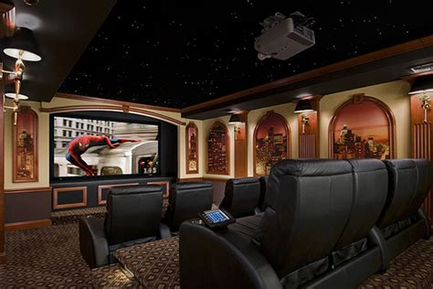 home theater decoration acoustic panels entertainment technology