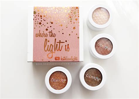 Colourpop Where The Is colourpop where the light is katleenlights set point of view