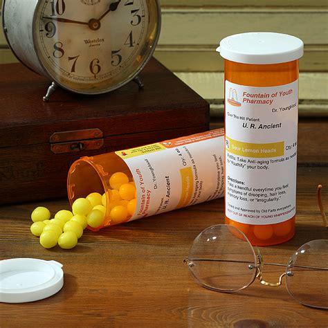 prescription  aging funny milestone birthday gag gift