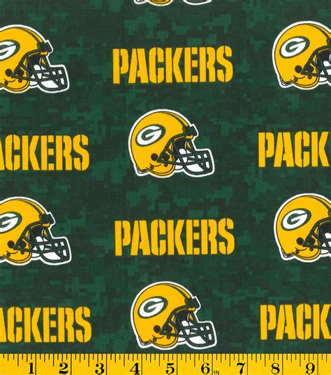 green bay upholstery green bay packers nfl digital cotton fabric jo ann