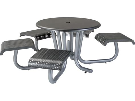 ada compliant table bases tropitone district 42 steel dining table with 5
