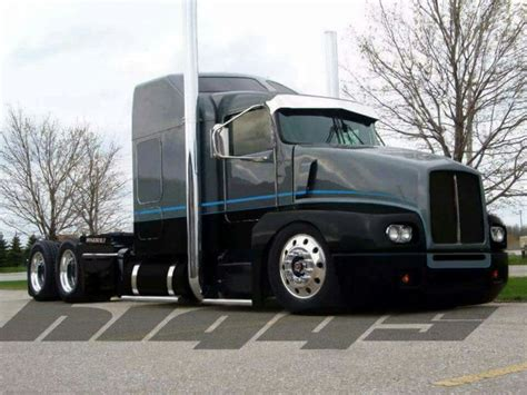 kenworth t600 custom custom kenworth t600 quot drawing the line quot pinned by ton