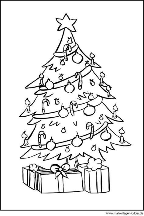 ausmalbild weihnachtsbaum my blog