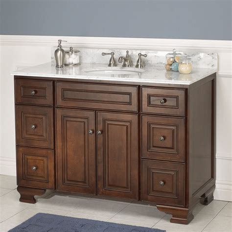 Hawthorne Cabinets by Foremost 48 Quot Hawthorne Cabinet Only W O Top Walnut