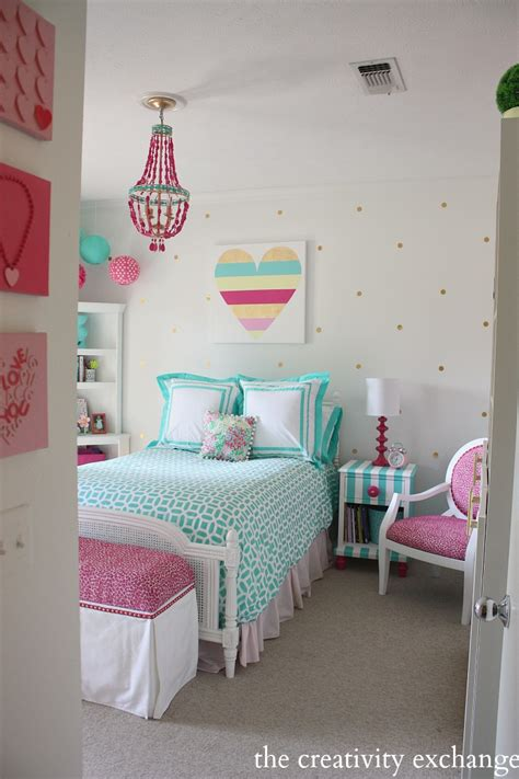 tween girls bedrooms little girl s room reved to bright and bold tween room