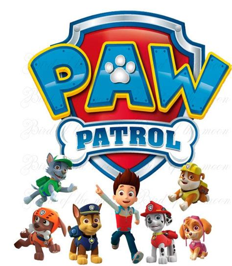 70 Best Images About Paw Patrol Party On Pinterest Paw Patrol Pinata Paw Patrol And Paw Paw Patrol Birthday Shirt Template