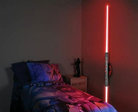 Lightsaber Wall Light by Futuristic Wall Light And Coffee Table Design Home