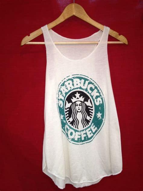 T Shirt Starbuck new starbucks coffee tank top singlet vest t shirt free shipping ebay
