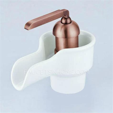 faucet styles bathroom ceramic art rose gold bathroom faucet styles