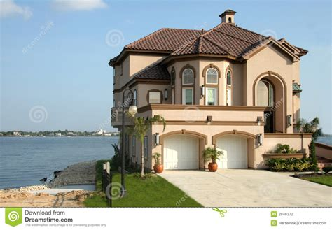 what is your dream house dream house near the lake stock photography image 2846372