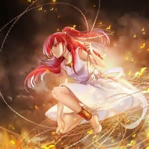 2048x2048 wallpaper magi the labyrinth of magic morgiana girl anime