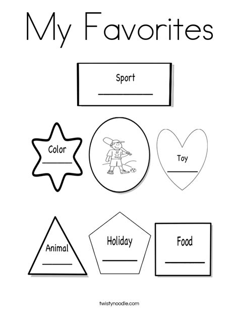 what does my favorite color tell about me all about me coloring pages coloring home