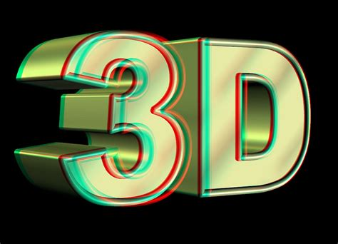 3d Video 1 Red And Blue Cyan Glasses Youtube 3d Image For The 3