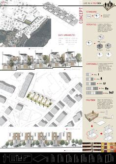 Presentation Board For Architectural Design By Anthony Lau Dynamic Presentation Ideas