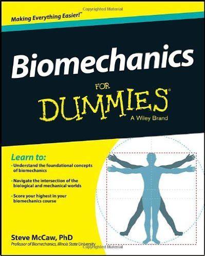 Detox For Dummies Pdf by Biomechanics For Dummies Free Ebooks