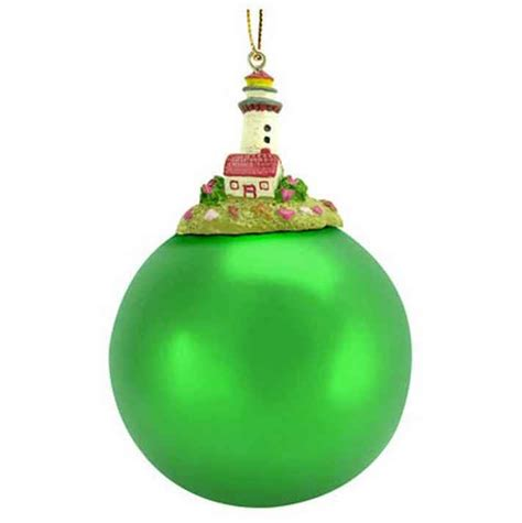 green ornaments buy top lighthouse green tree ornament