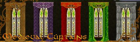medieval curtains murfeel s medieval curtain