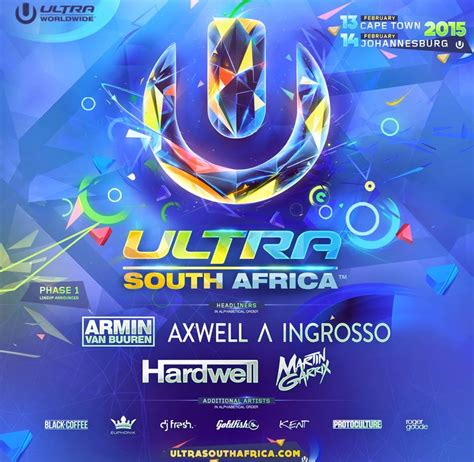 ultra south africa lineup 2019 mr cape town ultra south africa drops studded phase one lineup daily beat