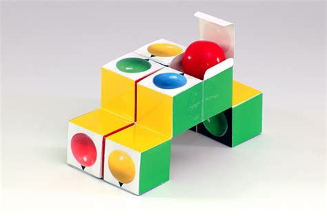 Toy1255 Puzzle Block Packing gumball puzzle cube pack on risd portfolios
