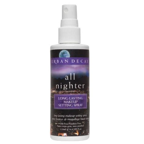 Makeup Spray Decay decay specialist all nighter make up setting spray