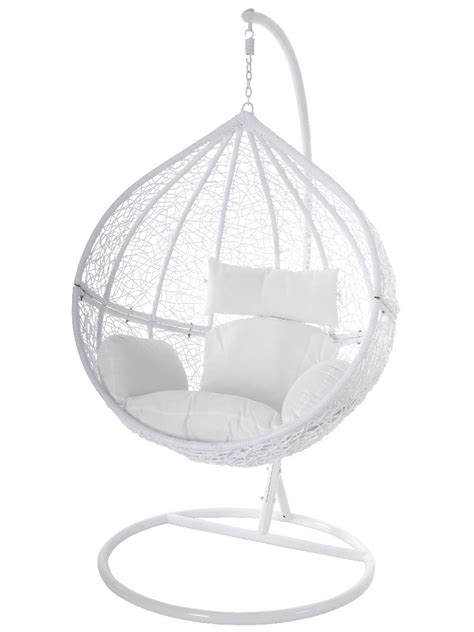 hã ngesessel kaufen swing chair h 228 ngestuhl h 228 ngesessel wei 223 polyrattan tropfen