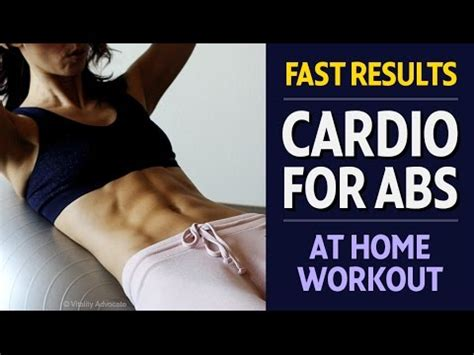 amazing cardio abs workout for abdominals