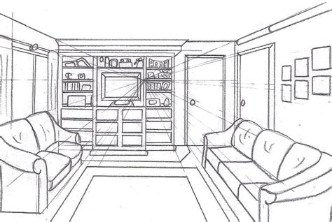 Drawing 2 Point Perspective From Plan by Pin By Reno Labarbera On Awesome Perspective