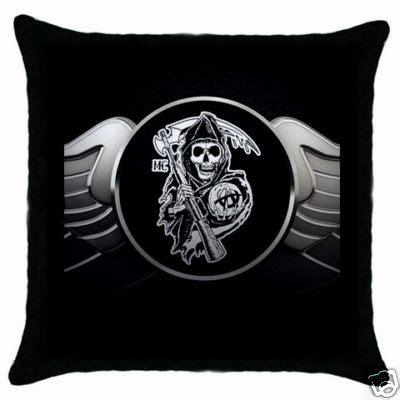 sons of anarchy bed set deviancez decorative throw pillow case sons of anarchy