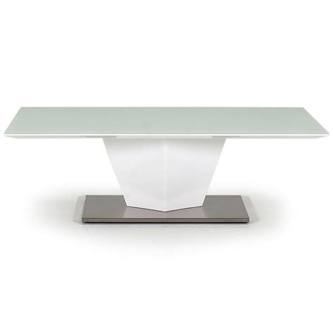 frosted glass coffee table essence white high gloss frosted glass coffee table fads
