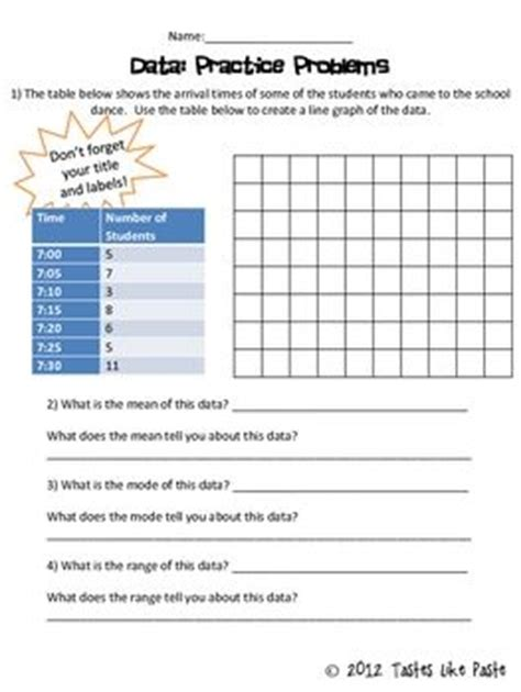 Graphing Data Worksheets High School by Graphing Practice Worksheets For Middle School Science