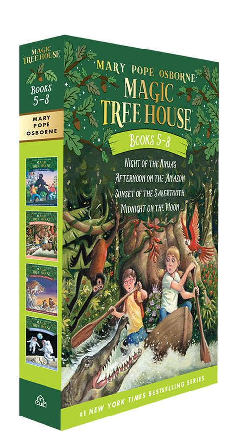 pictures of magic treehouse books magic tree house volumes 5 8 boxed set by pope