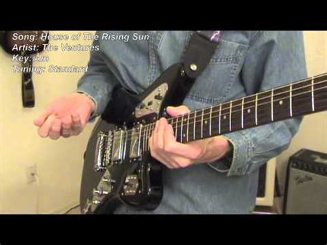house of the rising sun guitar lesson the house of the rising sun 해뜨는집 doovi