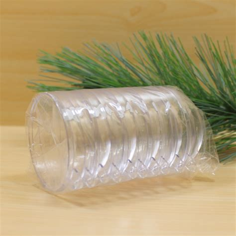 wholesale clear plastic ball christmas ornaments clear