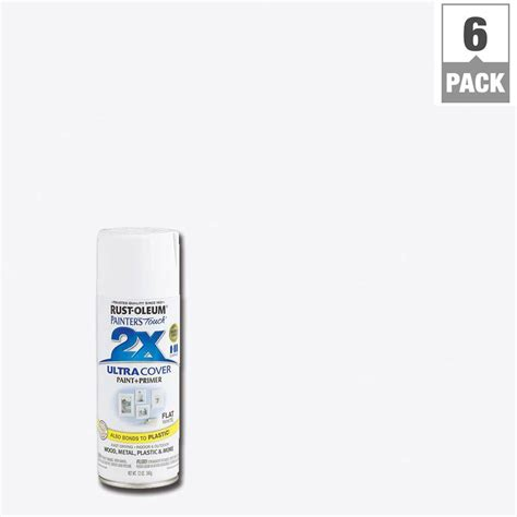 touch ls home depot rust oleum painter s touch 2x 12 oz white flat general