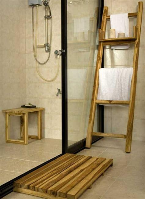 Ikea Badezimmer Leiter by Handtuchleiter Holz 35 Reizende Badezimmer Im Landhausstil
