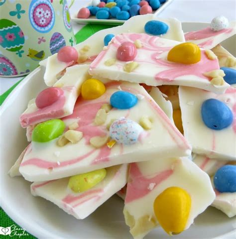 easter recipes easter bark recipe