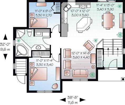 In Law House in law suite house plans home design 3323b
