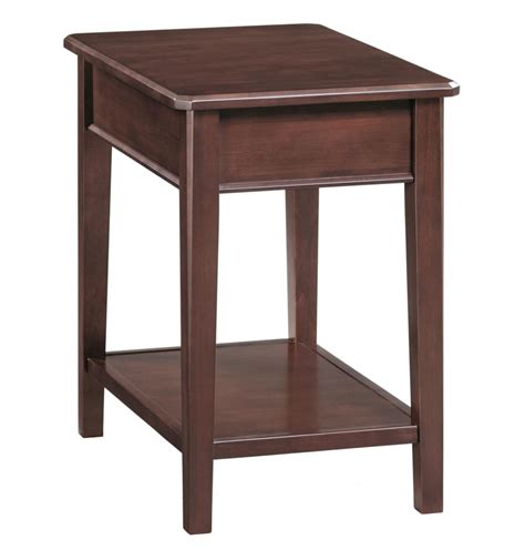 Side Chair Table by 16 Inch Stayton Chair Side Tables Bare Wood Wood