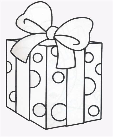dibujos para colorear regalo del da de la madre dibujos de cajas de regalos para colorear imagui