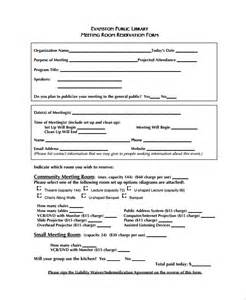 accommodation booking form template reservation forms gallery