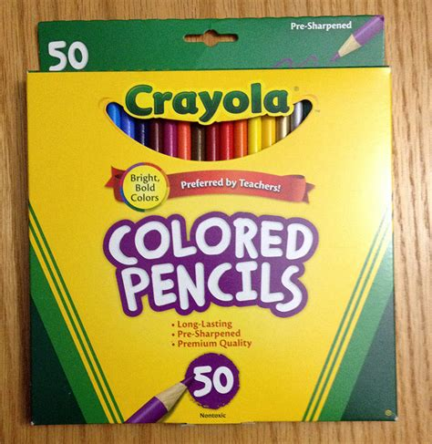 which color what pack crayola colored pencils
