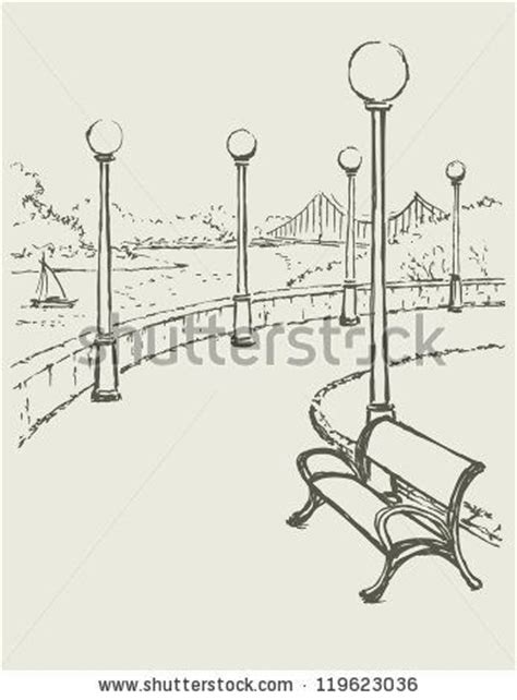 how to draw a park bench pinterest the world s catalog of ideas