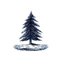 tattly designy temporary tattoos pine tree by fiona