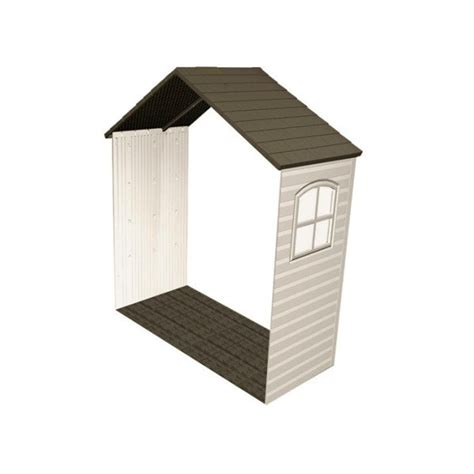 Lifetime Shed Parts by Lifetime 8x2 5 Ft Storage Shed Expansion Kit With One