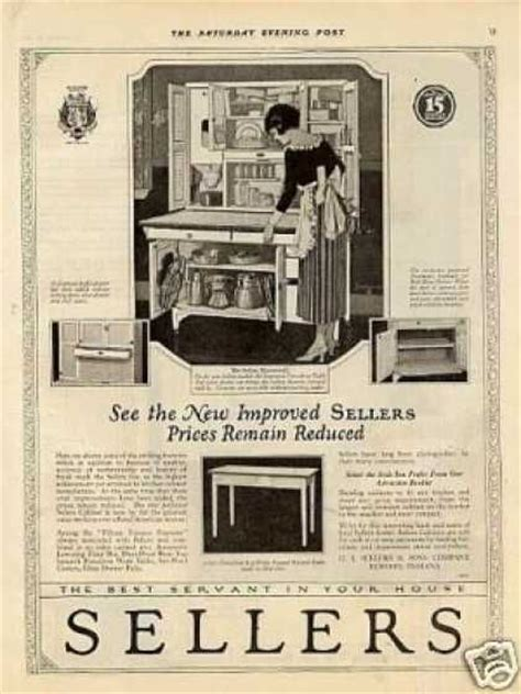 kitchen cabinet advertisement 17 best images about vintage kitchens on pinterest