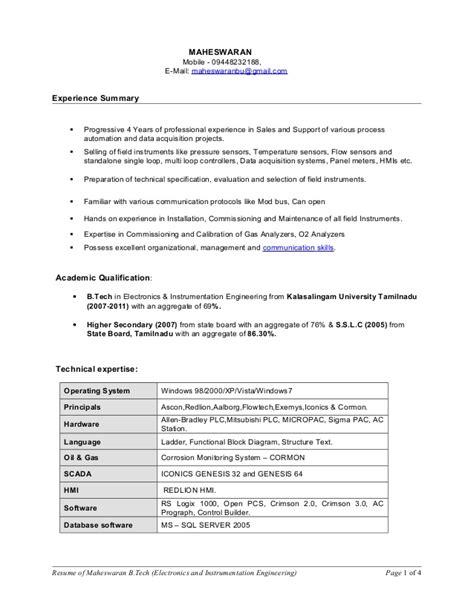 Update Resume App Updated Resume Mahesh 2015 1